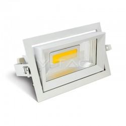 V-TAC Downlight Rectangle 30W 6400K 2450LM