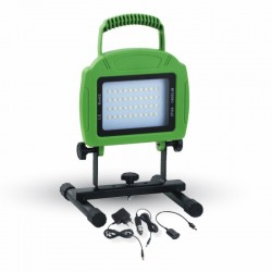 V-TAC Projecteur LED rechargeable  20W IP44 VERT