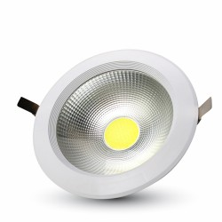 V-TAC 40W LED COB Downlight ronde A ++ 120Lm / W 4000K 4800LM