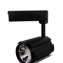 Projecteur LED COB sur rail 30W 4000K 1750Lm ip43 Noir L30-H