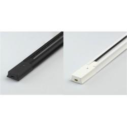 Rail Monophasé pour Spots LED 2 Métre Noir