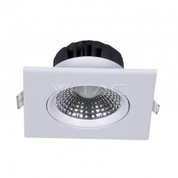 V-TAC Spot LED Encastrable Réglable Carré 5W 4000K 350LM