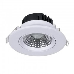 V-TAC Spot LED Encastrable Réglable Rond 5W 3000K 350LM