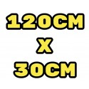 1200x300mm