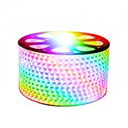 Ruban LED RGB 220V AC SMD5050 60 LED/M  1 mètre