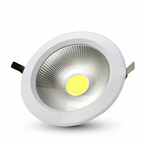 V-TAC 40W LED COB Downlight ronde A ++ 120Lm / W 4000K 4800LM