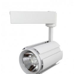 Projecteur LED COB sur rail 30W 4000K 1750Lm ip43 blanc L30-B