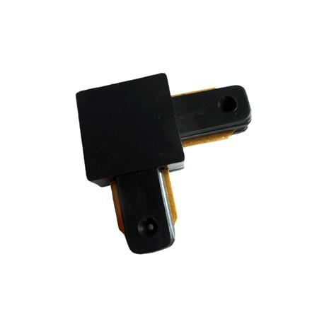 Connecteur Type L pour Rail Monophasé noir