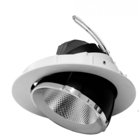 Escargot LED Orientable 30w 4000k 2400lm blanc