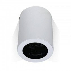 V-TAC Support pour spots LED GU10 rond Blanc