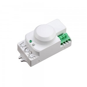 Micro capteur d/étecteur de mouvement 360/° port/ée de 9 m 1200W