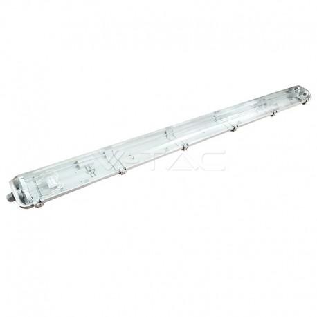 REGLETTE LED avec 2 tubes de 18W 6400K IP65 120CM
