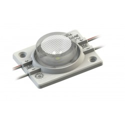 Module LED 1 LENTIILE  3W 12V x 20pcs
